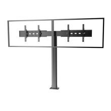 "Public TV Floor Stand Floormount Base Dual Screens 30-60"" (AVA 202E)"