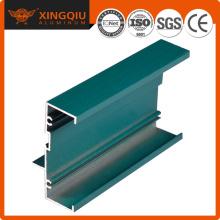 Ventana de perfil de aluminio de perfil bajo, perfil de perfil de rotura de aluminio
