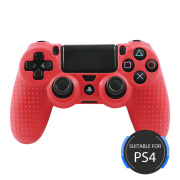 Pure Color Silicone Cover for PS4 Controller