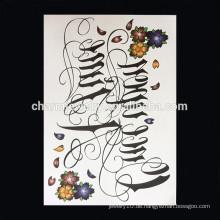OEM Großhandel Arm Tattoo Qualität Arm Band Tattoo Arm Tattoo Frauen W-1001