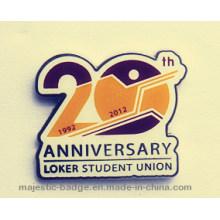 20 Anniversary Lapel Pin Offset Print