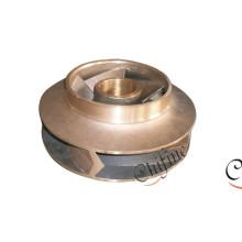 Turbine de pompe à eau de moulage en laiton cuivre bronze OEM