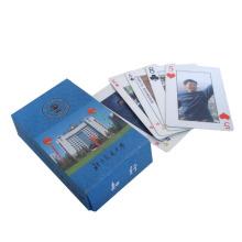 Cartões de jogo de papel com logotipo do cliente