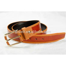 New Fashion design PU belt for man's dressing in 35mm width