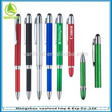 Elegante MultiColor Popular venda quente tela caneta Stylus para telefone móvel, Ipod, Tablet