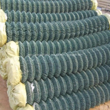Clôture à mailles de chaîne enduite de PVC