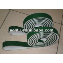 PU Timing Belts Green Fabric