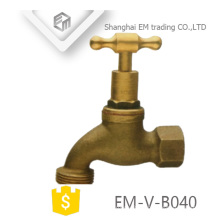 EM-V-B040 Nature color brass high handle bibcock
