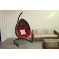 Natural Water Hyacinth Swing Chair Hammock For Indoor Furniture