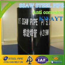 China 3PE Anti corrosão tubo de linha API SPEC 5L