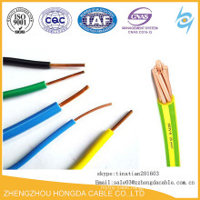 H07V-U H07V-R H07V-K 2.5mm2 copper conductor 70C PVC insulated electric wire