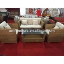 rattan sofa for outdoor gardens furniture