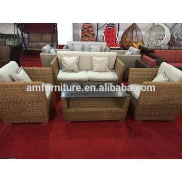 Rattan-Sofa für Gartenmöbel im Freien