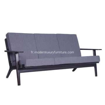 Hans Wegner Plank Sofa Chair 3 Seat Version