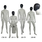 Male fashion abstract mannequin with removable head