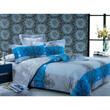 Pigment Printed Bed Sheet Set /Duvet Cover Set