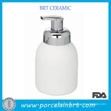 Weiße Schaum Keramik Shapoo Flasche zum Verkauf