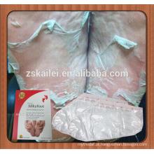 Máscara de seda do cuidado do pé do bebê do OEM do hotsale 2015