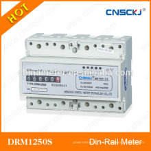 DRM1250S Din-rail KWH heure compteur