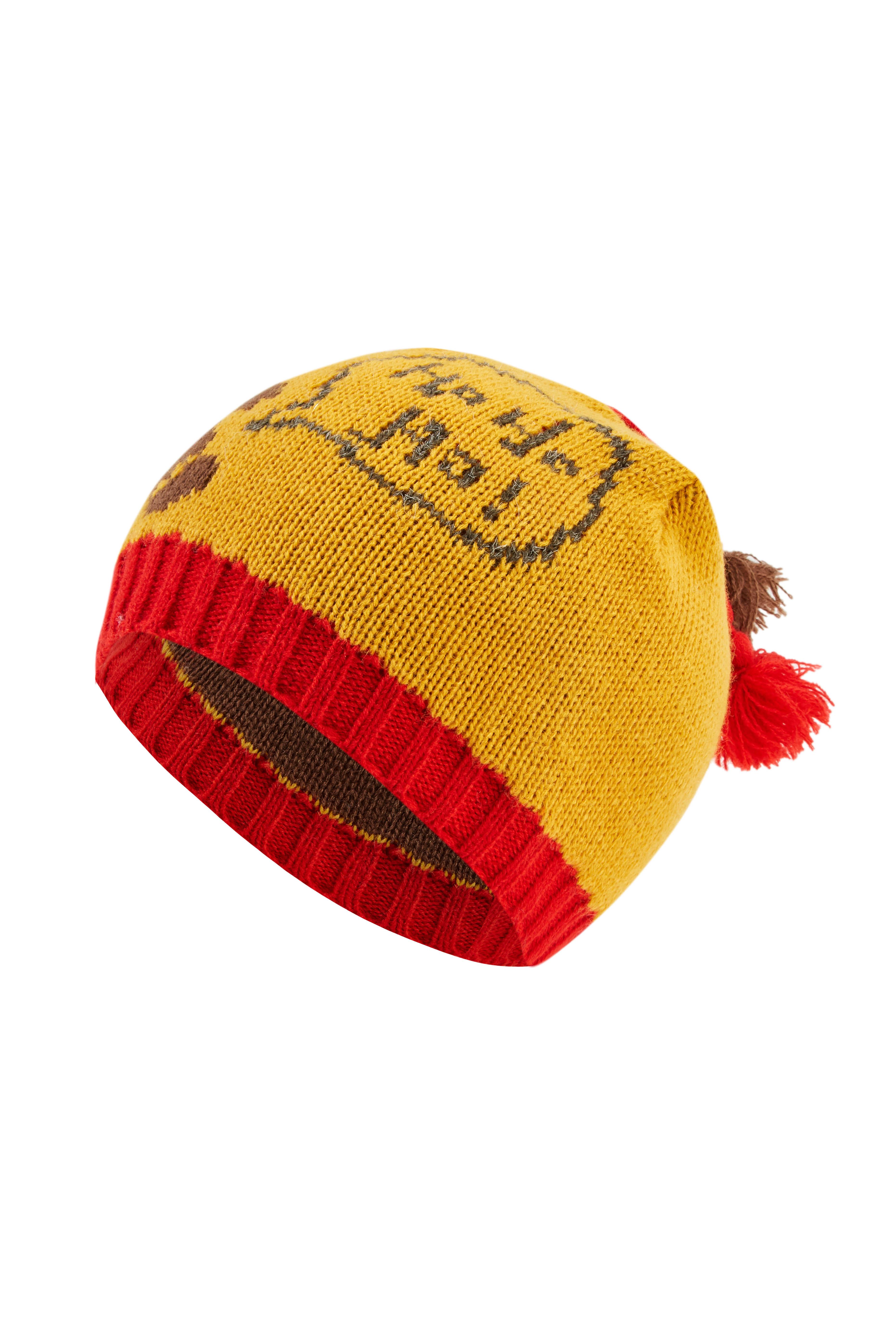 Kids' Christmas Cute Hat Jacquard Beanie Cap