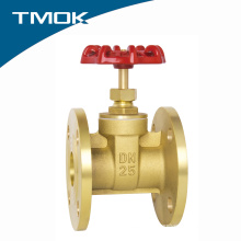 Brass color Flange Gate Valve For Oil Gas And Water
