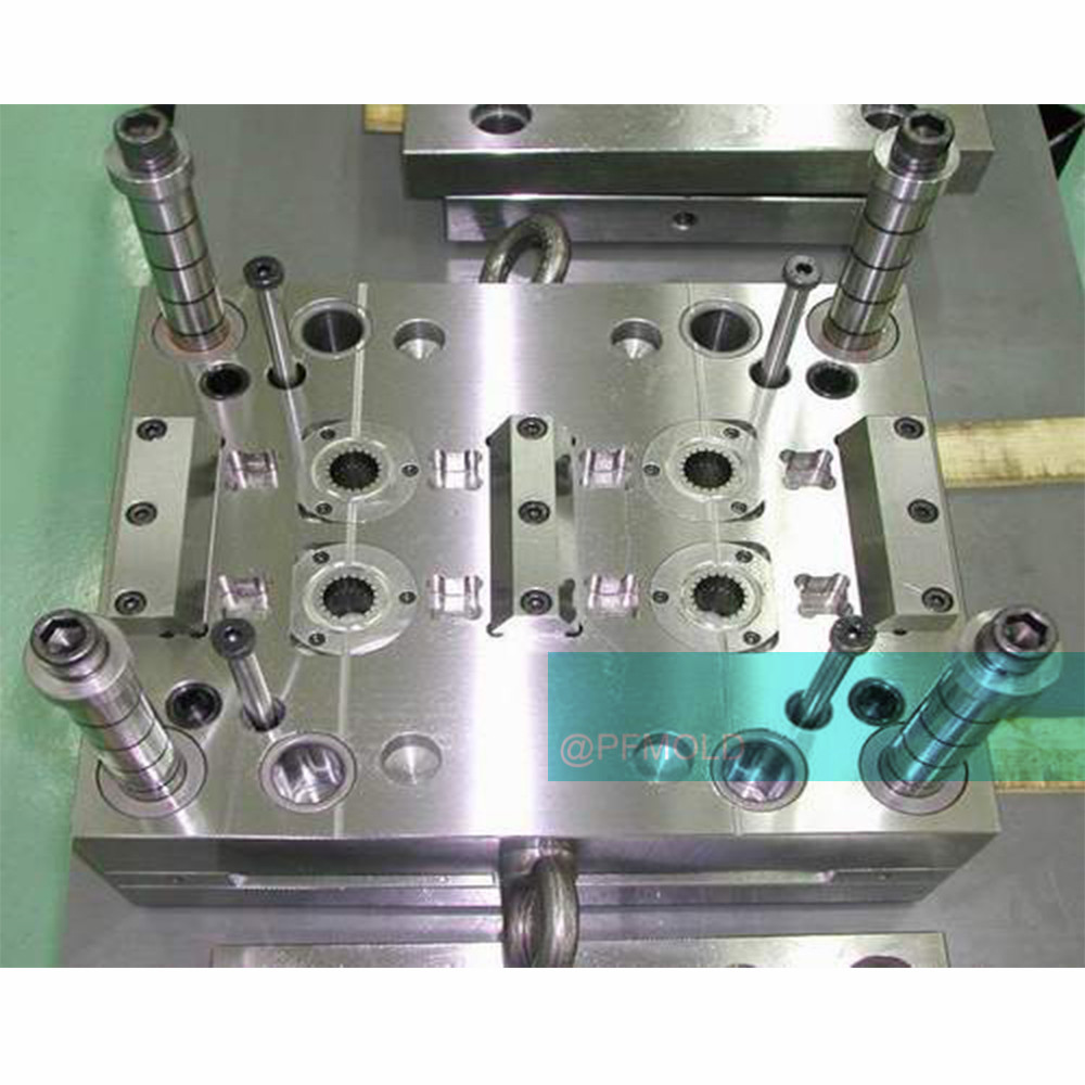 High precision injection mold