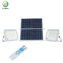 Holofote LED solar de alto lúmen externo IP65