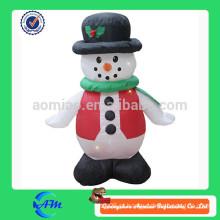 Alta qualidade e alto grau homem inflável da neve do Natal para crianças