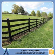 Kundenspezifische Qualität und Stärke Square / Round / Oval Tubes Style Farm Zaun