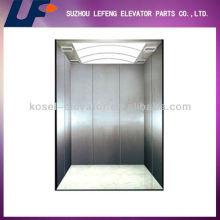 Hairline Edelstahl Waren Aufzug / riesige Kapazität Aufzug / Waren Lift