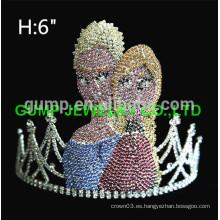 Corona de tiara al por mayor