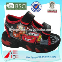 china wholesale kid sandals PU face print cartoon toy
