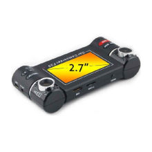 "2.7"" 180 Degree Rotation G-sensor Dual Channel Vehicle Digital Video Recorder / Car Dvr Recorders"