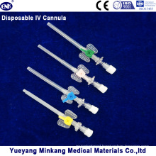 Blister Packed Medical Disposable IV Cannula/IV Catheter with Injection Port