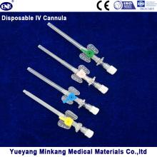 Blister embalado cateter IV descartável médica / cateter IV com porta de injeção