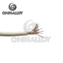 AWG 8 3.2mm PFA / PVC isolé et gainé E Type Thermocouple Extension Wire