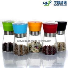 Kitchenwaretransparent Hand Pepper Glass Mill Bottle