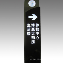 LED Sign Board Traffic Mandatory Sign Pylon Sign
