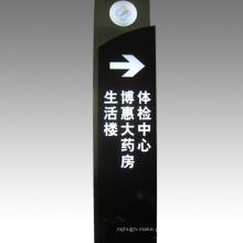 Placa de sinal de LED Sinal de tráfego de sinal obrigatório