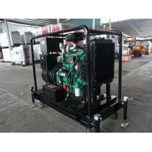 Pequeño generador diesel móvil tipo abierto de 30kw