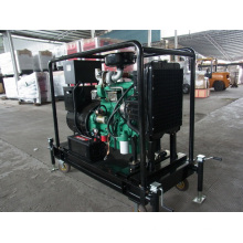 Small Mobile Diesel Generator 30kw Open Type