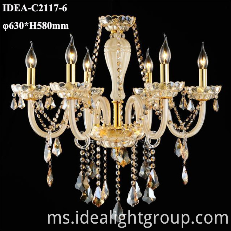 crystal drop chandelier