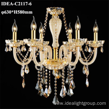 crystal drop chandelier candle pendant lighting