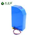 Batería recargable de la bici de litio de la alta capacidad de encargo 13ah 40ah 48v e batería de la bici