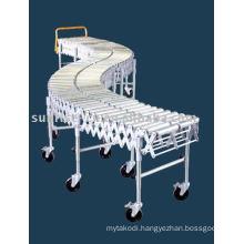 Flexible Expandable Double Roller Conveyor