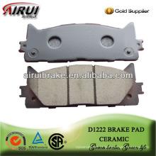 D1222 Camry peças de reposição de freio