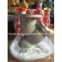 API Y-Strainer of Flange End with Carbon Steel RF