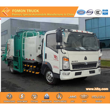SINOTRUK 5M3 Side Loader Garbage Truck