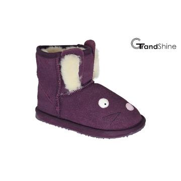 Kids′ New Arrival Snow Mini Boots Lovely Rabbit