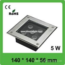 Vente chaude 5w haute puissance led souterrain LED lumière IP66 conduit souterrain imperméable à l'eau